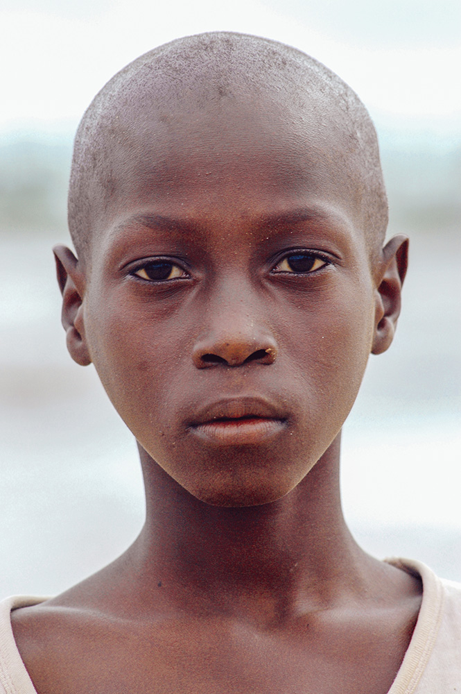 SENEGAL - SEPTEMBER 17: Boy from the island of Carabane smiling
