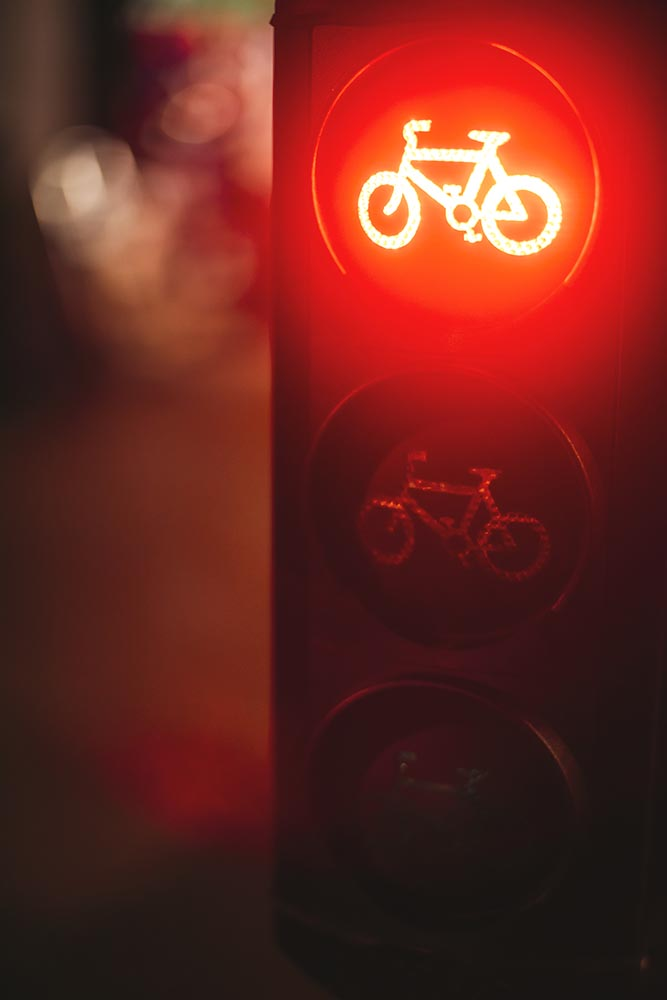 Traffic lights fo cyclicts