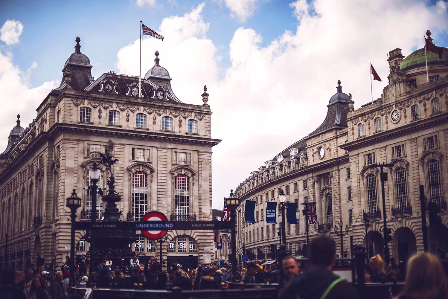 Piccadilly Circus of London
